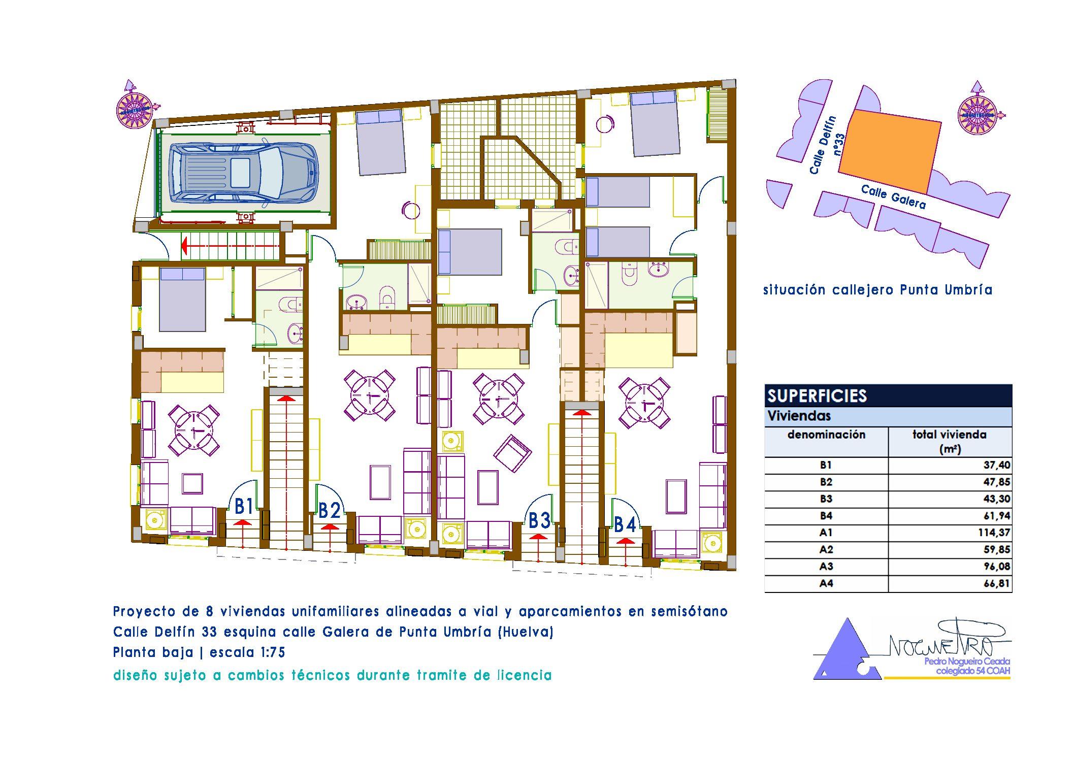 REF: 473 VIVIENDAS Y GARAJES  DE NUEVA CONSTRUCCION EN CALLE DELFIN PUNTA UMBRIA